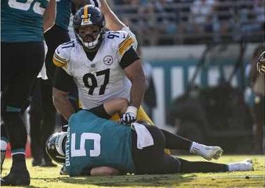 Cameron Heyward, Cam Heyward, Blake Bortles, Steelers vs Jaguars