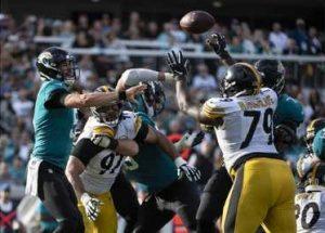 Javon Hargrave, Blake Bortles, Cam Heyward, Steelers vs Jaguars