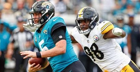 Vince Williams, Blake Borteles, Steelers vs Jaguars