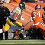 Xavier Grimble, Xavier Grimble fumble, Jack Dempsey, Steelers vs Broncos