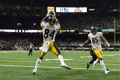 Antonio Brown, Xavier Grimble, Steelers vs Saints