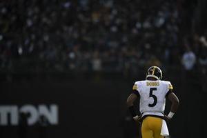 Joshua Dobbs, Steelers vs Raiders
