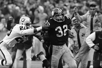 Immaculate Reception, Franco Harris, Jimmy Warren, Steelers vs Raiders
