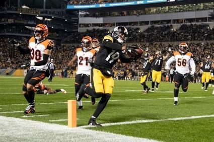 JuJu Smith-Schuster, Steelers vs Bengals