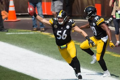 Anthony Chickillo, Steelers Browns 2017 opener, Anthony Chickillo Touchdown