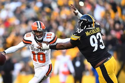 Daniel McCullers, RGIII, Robert Griffin III, Steelers vs Browns