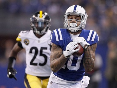 Donte Moncrief, Steelers sign Donte Moncrief, Artie Burns, Steelers vs Colts