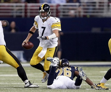 Mark Barron, Ben Roethlisberger, Mark Barron injures Ben Roethlisberger