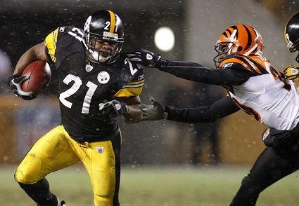 Mewelde Moore, David Jones, Steelers vs Bengals 2008