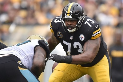 Ramon Foster, Steelers vs Jaguars