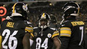 Steelers Killer Bees, Ben Roethlisberger, Antonio Brown, Le'Veon Bell