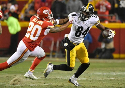 Steve Nelson, Steve Nelson Steelers, Antonio Brown, Steelers vs. Chiefs