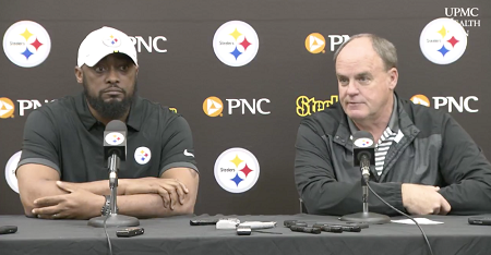 Kevin Colbert, Mike Tomlin, Steelers 2019 pre draft press conference