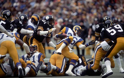 Steelers vs Rams, Dwayne Woodruff, Wendell Tyler, Jack Ham, Donnie Shell