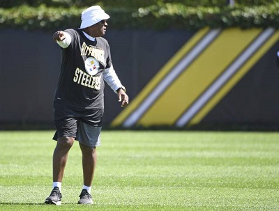 Ray Sherman, Ray Sherman Steelers wide receivers coach