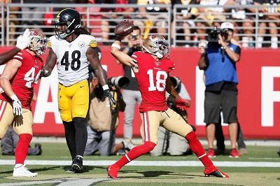 Dante Pettis, Bud Dupree, Steelers vs 49ers