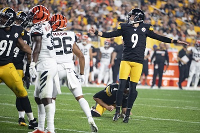 Chris Boswell, Steelers vs Bengals,