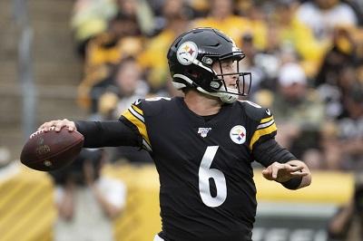 Devlin Hodges, Steelers vs Ravens