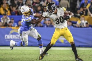 James Conner, Steelers vs Chargers, Denzel Perryman