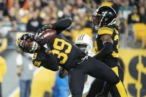 Minkah, Fitzpatrick, Minkah Fitzpatrick interception Dolphins, Steelers vs Dolphins MNF