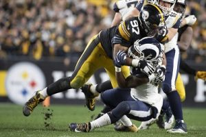 Cam Heyward, Todd Gurley, Cameron Heyward, Steelers vs Rams