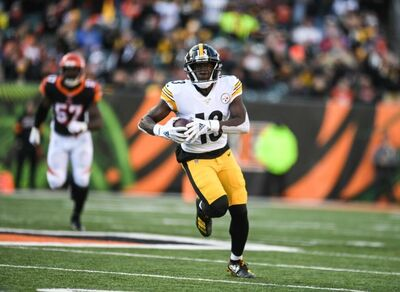 James Washington, Steelers vs Bengals