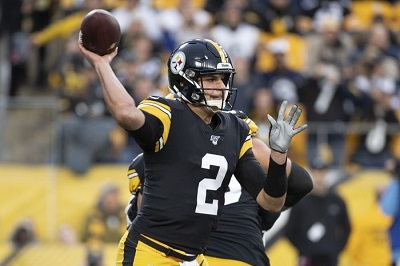 Mason Rudolph, Steelers vs Rams
