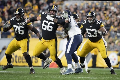 David DeCastro, Maurkice Pouncey, Chukwuma Okorafor, Steelers vs Rams