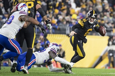 Delvin Hodges, Shaq Lawson, Steelers vs Bills