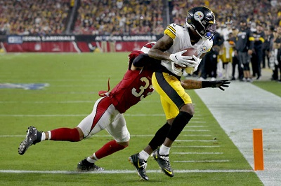 Diontae Johnson, Byron Murphy, Steelers vs Cardinals