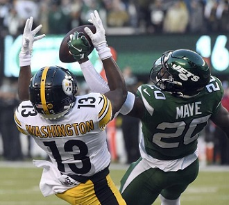 James Washington, Marcus Maye, Steelers vs Jets