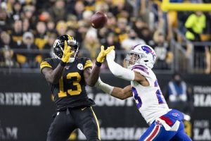 James Washington, Micah Hyde, Steelers vs Bills