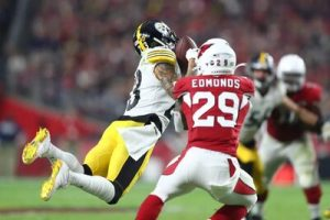 Joe Haden, Chase Edmonds, Steelers vs Cardinals