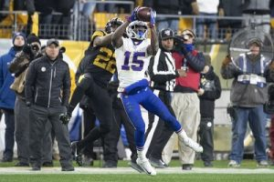 Josh Brown, Steven Nelson, Steelers vs Bills