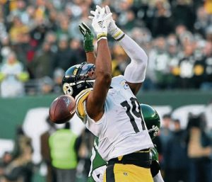 JuJu Smith-Schuster, Steelers vs Jets