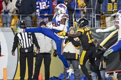 Levi Wallace, James Washington, Steelers vs Bills,