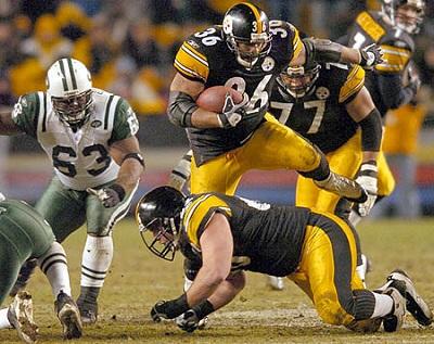Jerome Bettis, Alan Faneca, Dewayne Robertson, Steelers vs Jets, Steelers history vs Jets