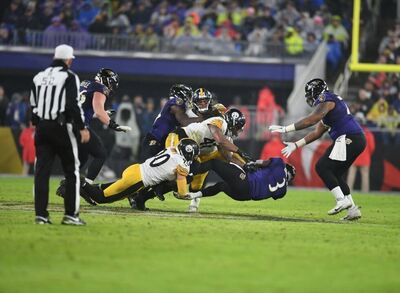 T.J. Watt, Bud Dupree, RGIII, Steelers vs Ravens