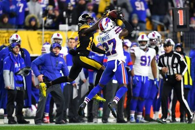 Tre'Davious White, Tre'Davious White interception, Diontae Johnson, Steelers vs Bills