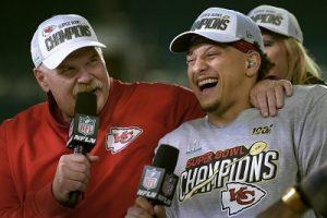 Andy Reid, Patrick Mahomes, Super Bowl LIV