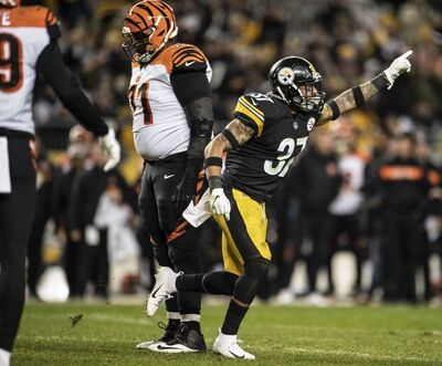 Jordan Dangerfield, Steelers vs Bengals