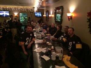 Steelers fans in northern Virginia.