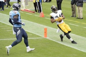 Benny Snell, Steelers vs Titans 2020