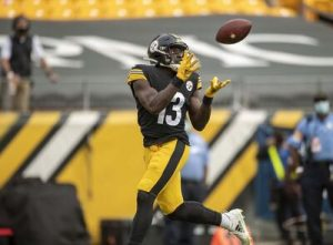 James Washington, Steelers vs Browns