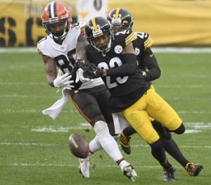 Joe Haden, Jarvis Landry, Steelers vs Browns
