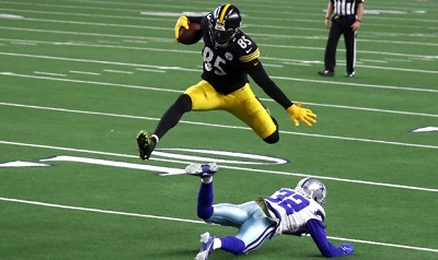 Eric Ebron, Saivion Smith, Steelers vs Cowboys