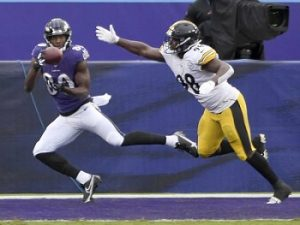 Miles Boyken, Vince Williams, Steelers vs Ravens