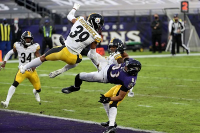 Minkah Fitzpatrick, Willie Snead, Justin Tucker, Steelers vs Ravens