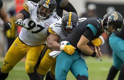 Stephon Tuitt, Jake Luton, Steelers vs Jaguars