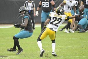 Steven Nelson, Steelers vs Jaguars